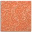 rug #257261   square orange natural rug