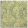 rug #257269   square yellow circles rug