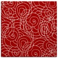 rug #257305 | square red popular rug