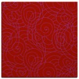 rug #257317   square red circles rug