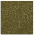rug #257397 | square light-green circles rug