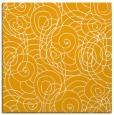rug #257401 | square light-orange circles rug