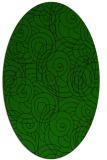 rug #257485 | oval circles rug