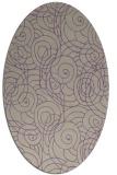 rug #257597 | oval natural rug