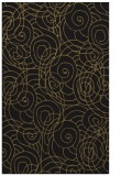 rug #257789 |  mid-brown circles rug