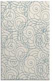 rug #257793 |  white circles rug