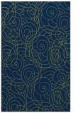 rug #257805 |  blue circles rug