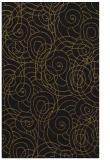 rug #257885 |  mid-brown circles rug