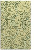 rug #257973 |  yellow circles rug