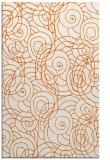 rug #258037    red-orange natural rug