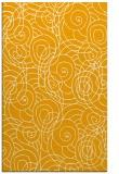 rug #258105 |  light-orange popular rug