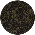 rug #258141 | round mid-brown natural rug