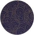 rug #258229 | round beige circles rug