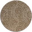 rug #258273   round beige circles rug