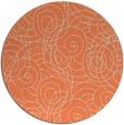 rug #258317 | round beige natural rug