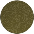 rug #258453 | round light-green circles rug