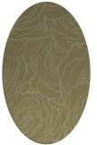 rug #259501 | oval light-green natural rug