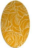 rug #259513 | oval light-orange popular rug