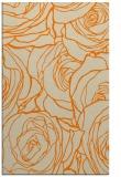 rug #259845 |  orange popular rug