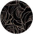 rug #259893 | round black rug