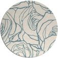 rug #259905 | round white natural rug