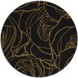 rug #259997 | round black natural rug