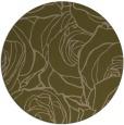 rug #260001 | round natural rug