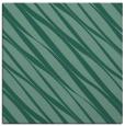 rug #265921 | square blue-green stripes rug