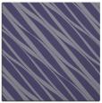 rug #265953   square blue-violet stripes rug