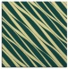 rug #266069 | square blue-green stripes rug