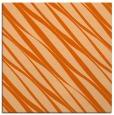 rug #266125 | square red-orange stripes rug