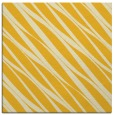rug #266153 | square yellow stripes rug