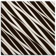 rug #266161   square brown stripes rug