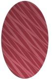 rug #266312 | oval stripes rug
