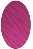 rug #266427 | oval stripes rug