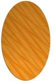 rug #266561 | oval light-orange stripes rug