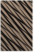 rug #266581 |  black stripes rug
