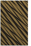 rug #266589 |  mid-brown stripes rug