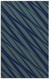 rug #266601 |  blue stripes rug