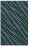 rug #266641 |  blue-green stripes rug