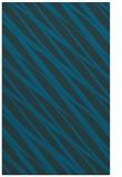 rug #266649 |  blue stripes rug