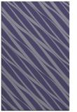 rug #266657 |  blue-violet stripes rug