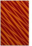 rug #266757 |  orange stripes rug