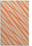 rug #266765 |  orange stripes rug