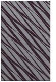 rug #266805 |  purple stripes rug