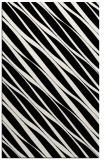 rug #266841 |  black stripes rug