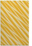 rug #266857 |  yellow stripes rug