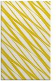 rug #266869 |  yellow stripes rug