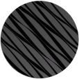 rug #266929 | round black rug