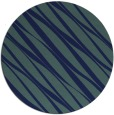 rug #266953 | round blue stripes rug